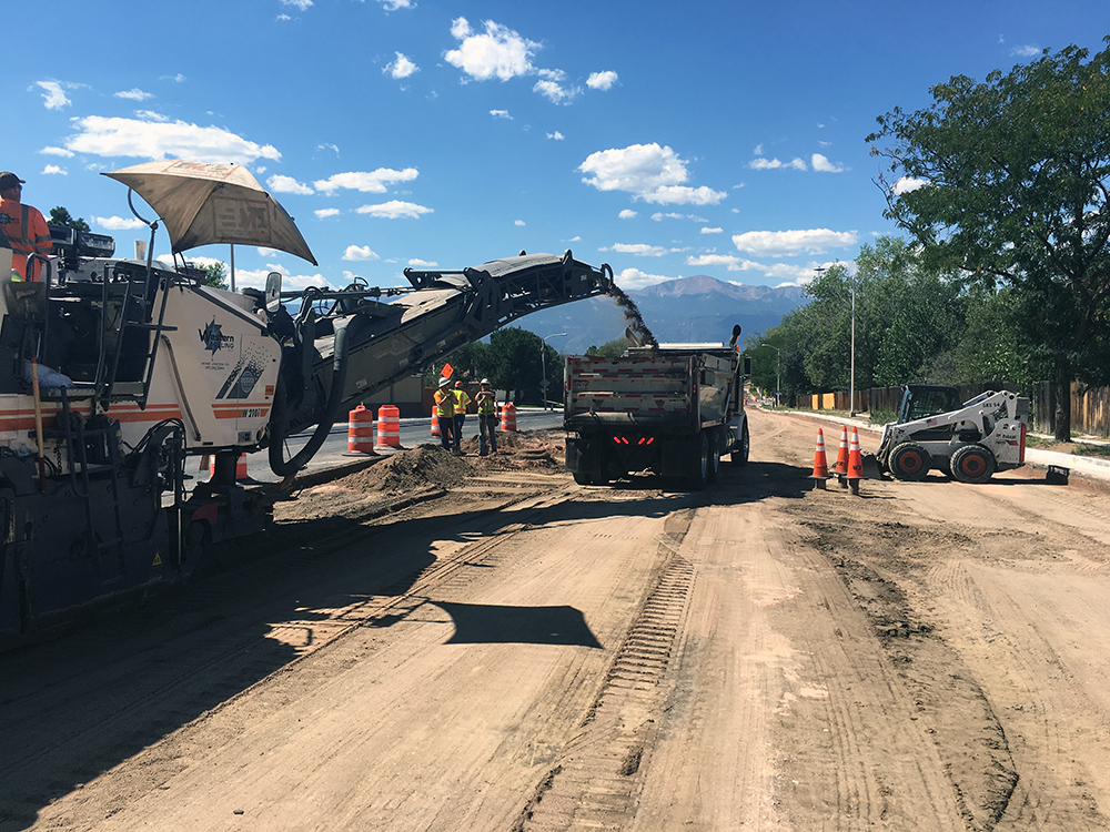 Paving Operations on Carefree