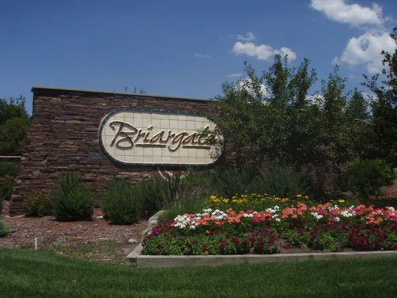 Briargate community entrance sign