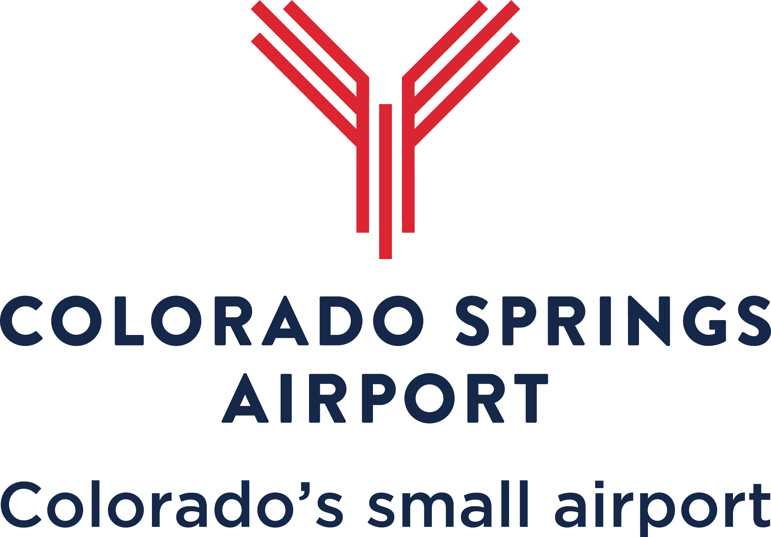 Colorado Springs airport logo