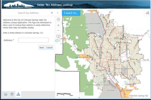 City Sales Tax License Colorado Springs