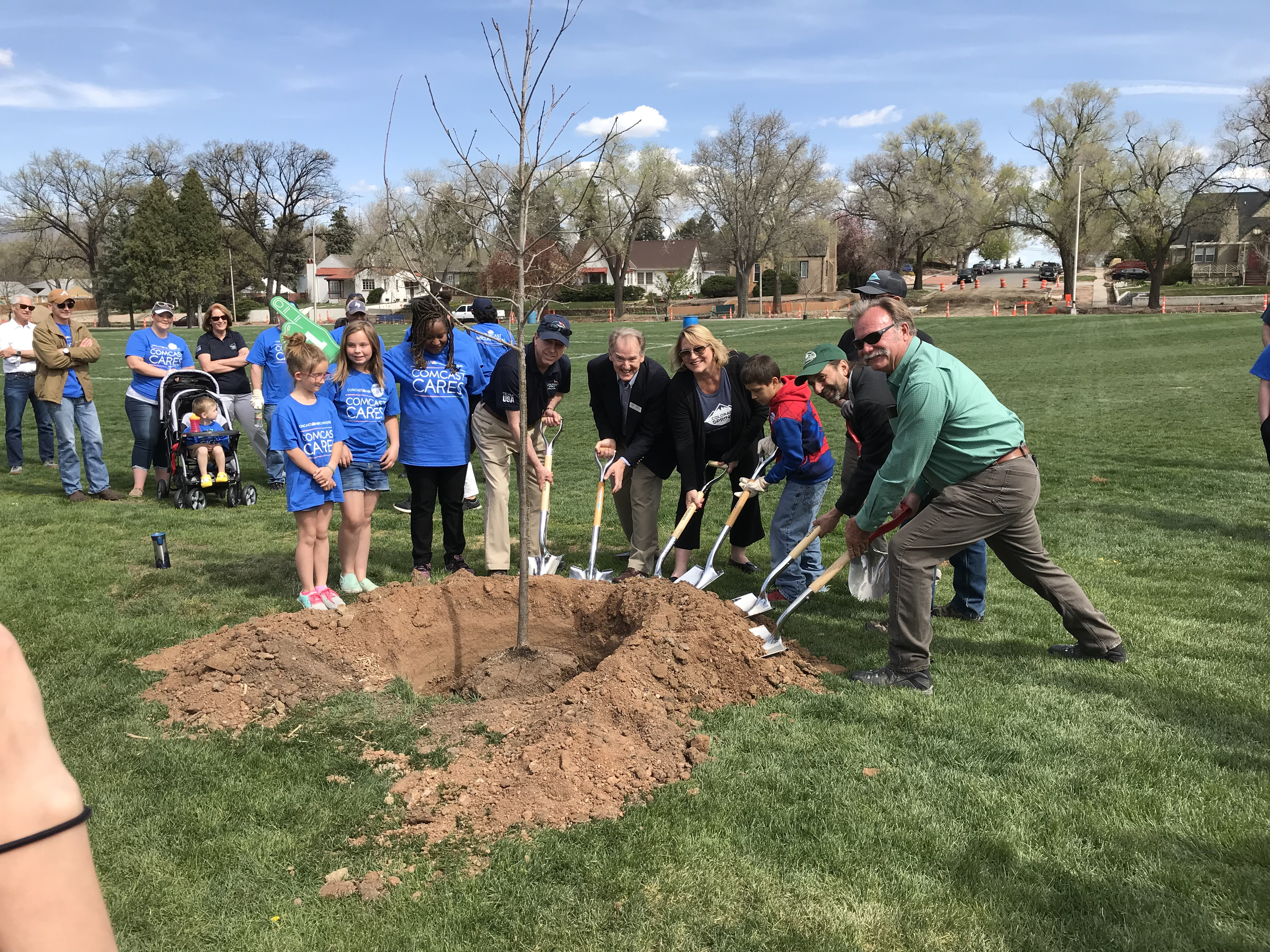 Arbor Day Plantings