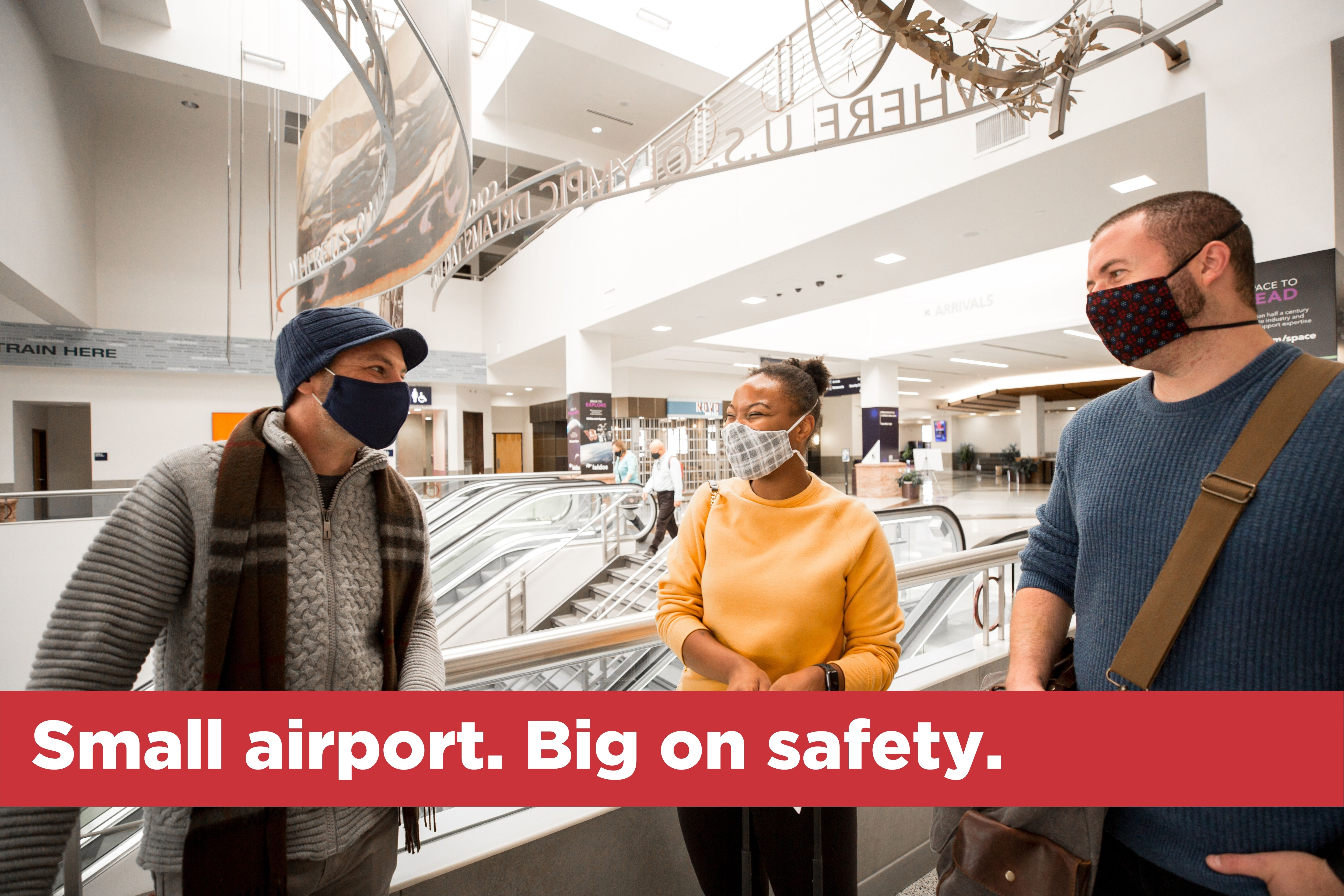 Small airport. Big on safety.