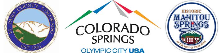 El Paso County, Colorado Springs, Manitou Springs logo