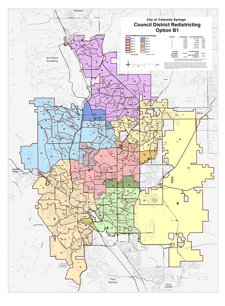 map of option b1