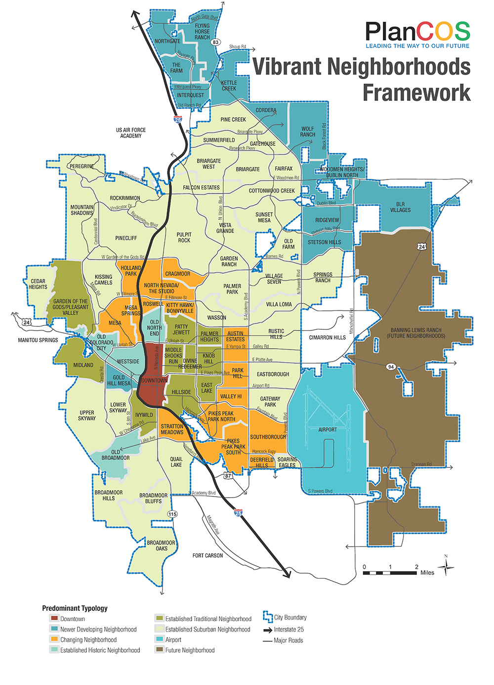 neighborhood framework map