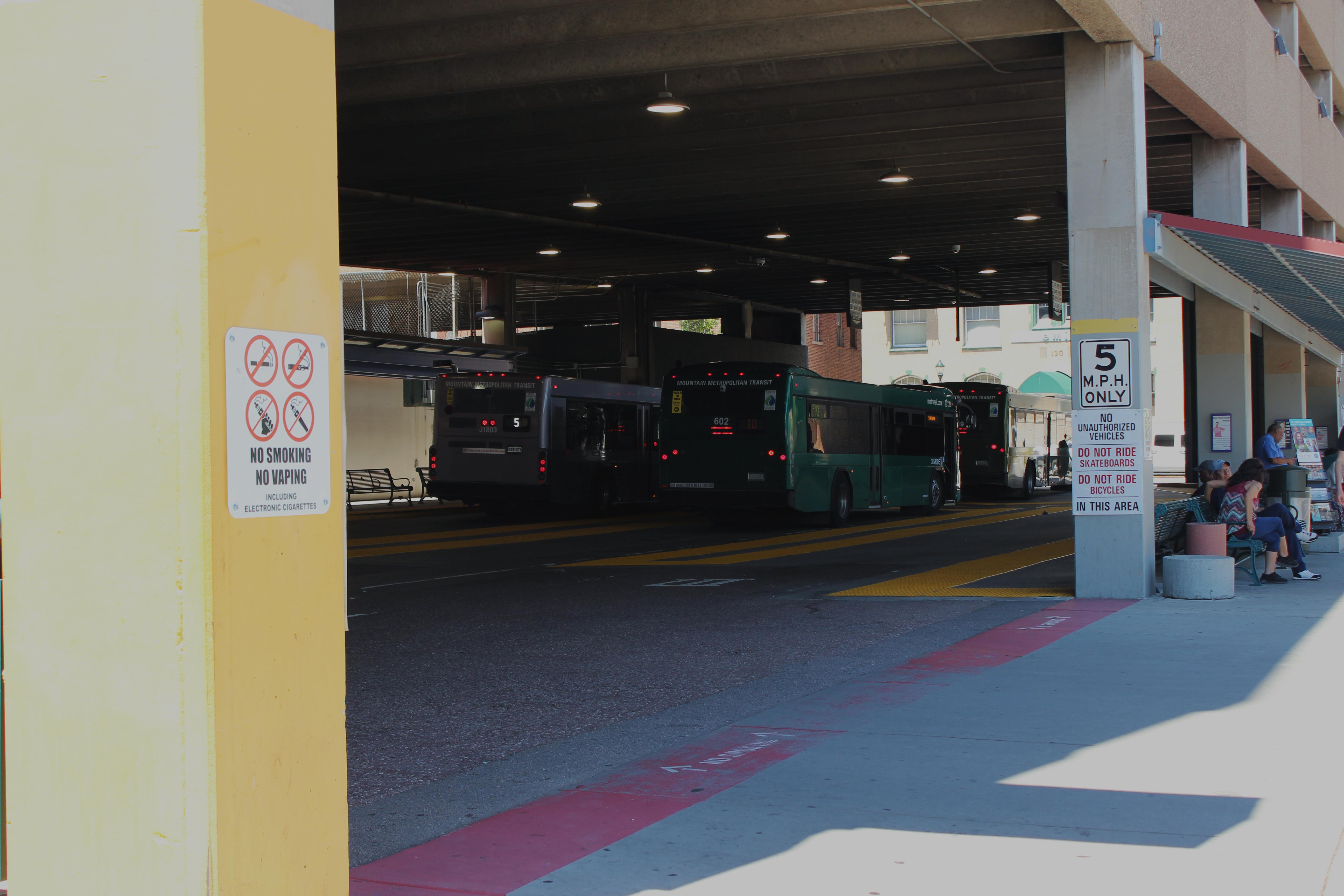 downtown bus terminal