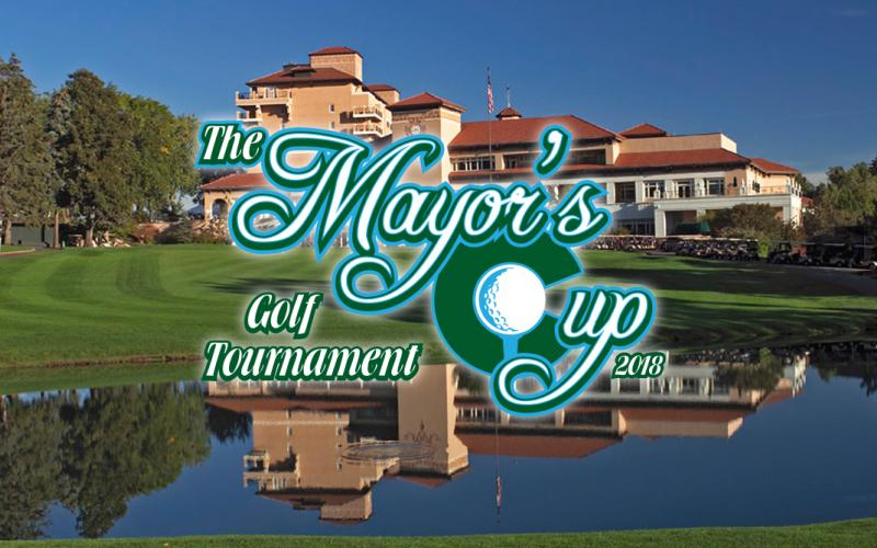 photo of the Broadmoor and mayor's cup logo