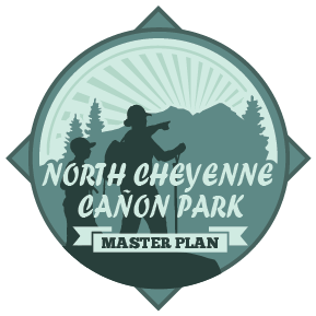 logo for the north cheyenne canon master plan