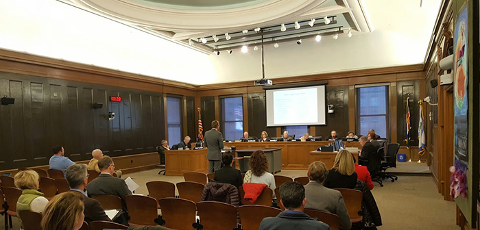 Peter Wysocki, Planning Director give a Plan COS update before City Council in Feb 2017