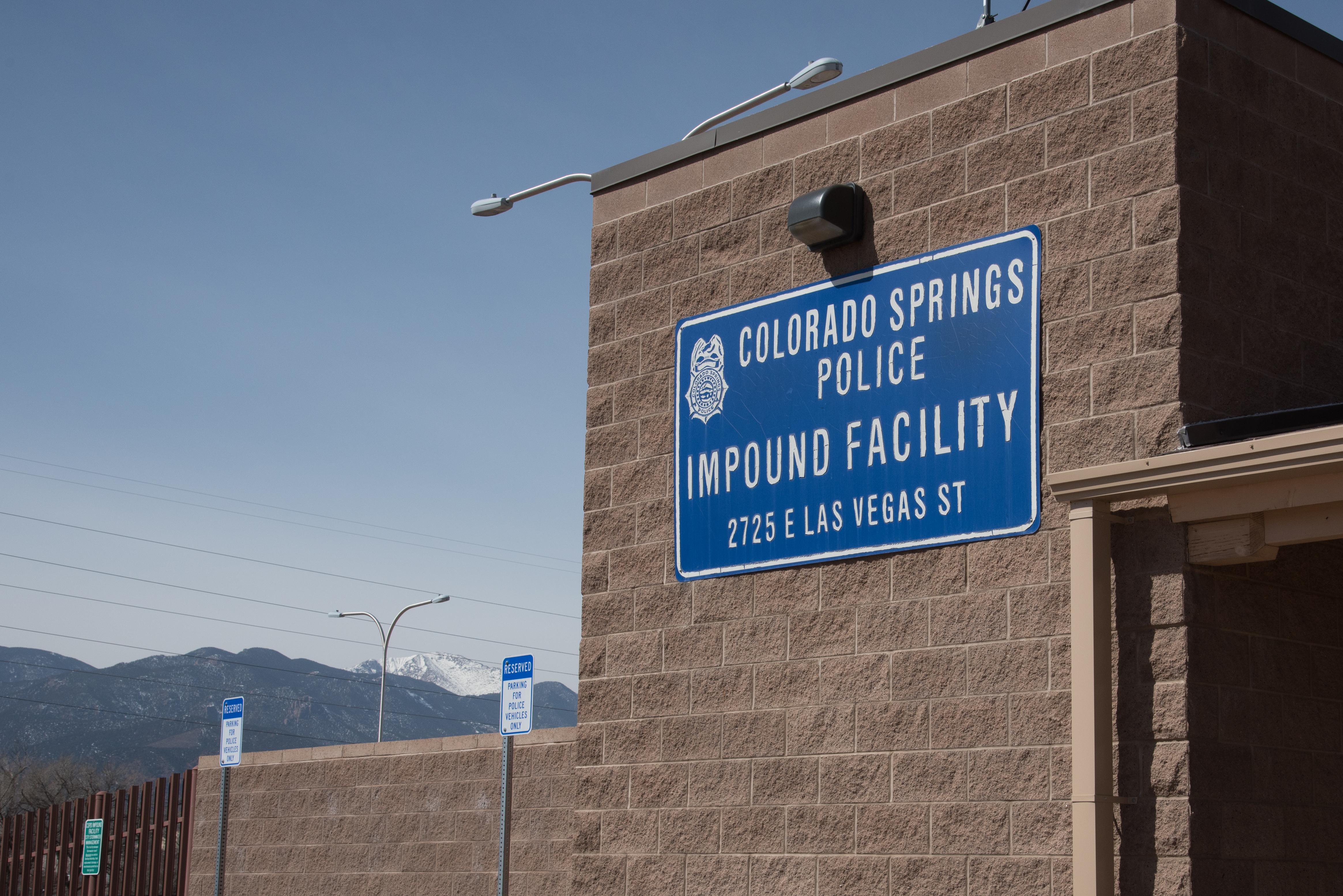 Police Impound Lot | Colorado Springs