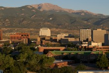 View of Downtown Colorado Springs
