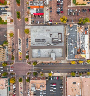 photo of downtown parking