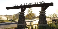 Banning Lewis Ranch Neighborhood Entry Sign