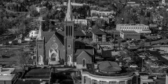 photo of downtown church