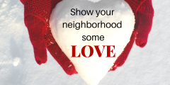 show your neighborhood some love