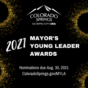 Mayors young leader graphic