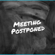 meeting postponed