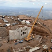 pikes peak summit construction
