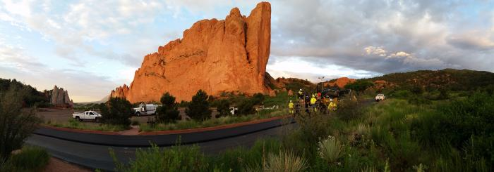 Paving In Garden of the Gods