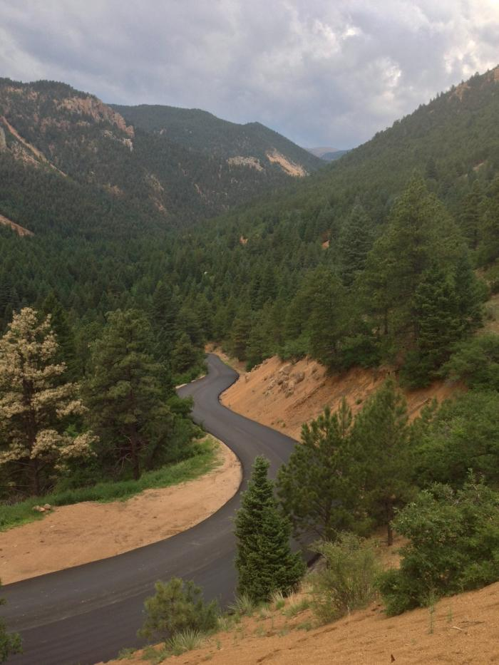 North Cheyenne Cañon Paving Completed!