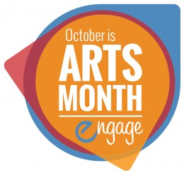 arts month logo