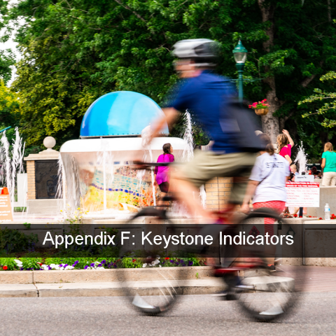 Links to appendix f keystone indicators