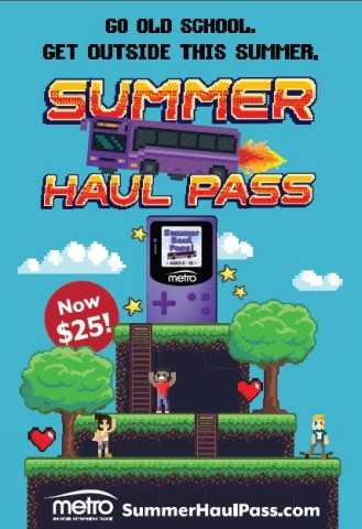 summer haul pass promotional flyer