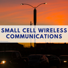 "image with text ""small cell wireless communications"""