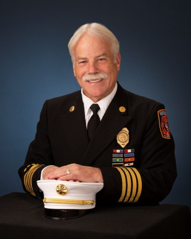 headshot of Deputy Fire Chief Randy Royal