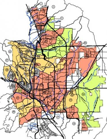 Image of Drainage Basin Planning Studies Inventory Map