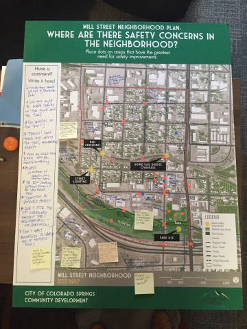Mill street neighborhood plan colorado springs mill street meeting board of public input malvernweather Images