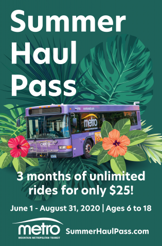 summer haul pass flyer, info found on webpage