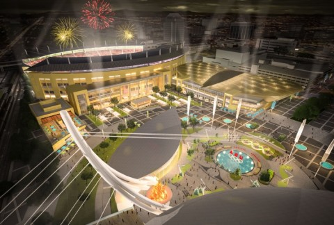 Image rendering of the Colorado Sports and Events Center