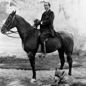 City Founder General William Jackson Palmer on horseback