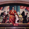 Mural at City audistorium