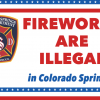 "graphic: ""fireworks are illegal in Colorado Springs"""