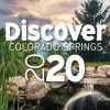 "photo of a park with the words ""Discover Colorado Springs 2020"" over the image"