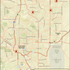map showing affordable housing projects in Colorado Springs