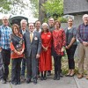 Photo of parks board members