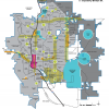 shows areas of implementation for Unique Places Vision