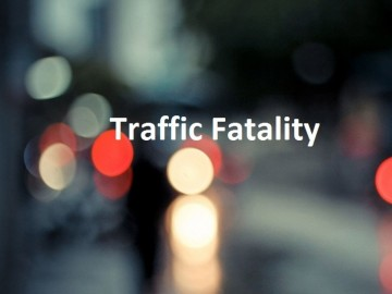 """graphic says """"traffic fatality"""""""