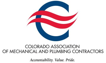 Colorado Association of Mechanical and plumning contractors logo