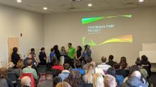 photo of community meeting