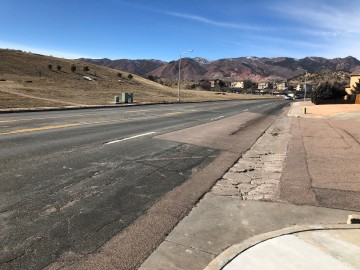 photo of rockrimmon blvd