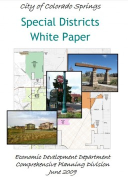 Special Districts White Paper Cover Page - Decorative