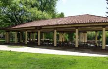 large picnic pavilion