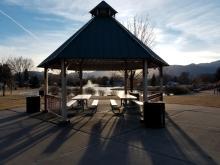 small picnic pavilion