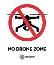 No drone symbol