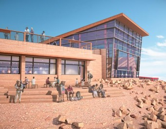 Pikes Peak Summit House Conceptual Image