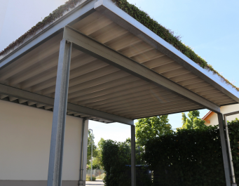Phot of an outside carport